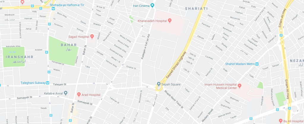 عکس نقشه گوگل
